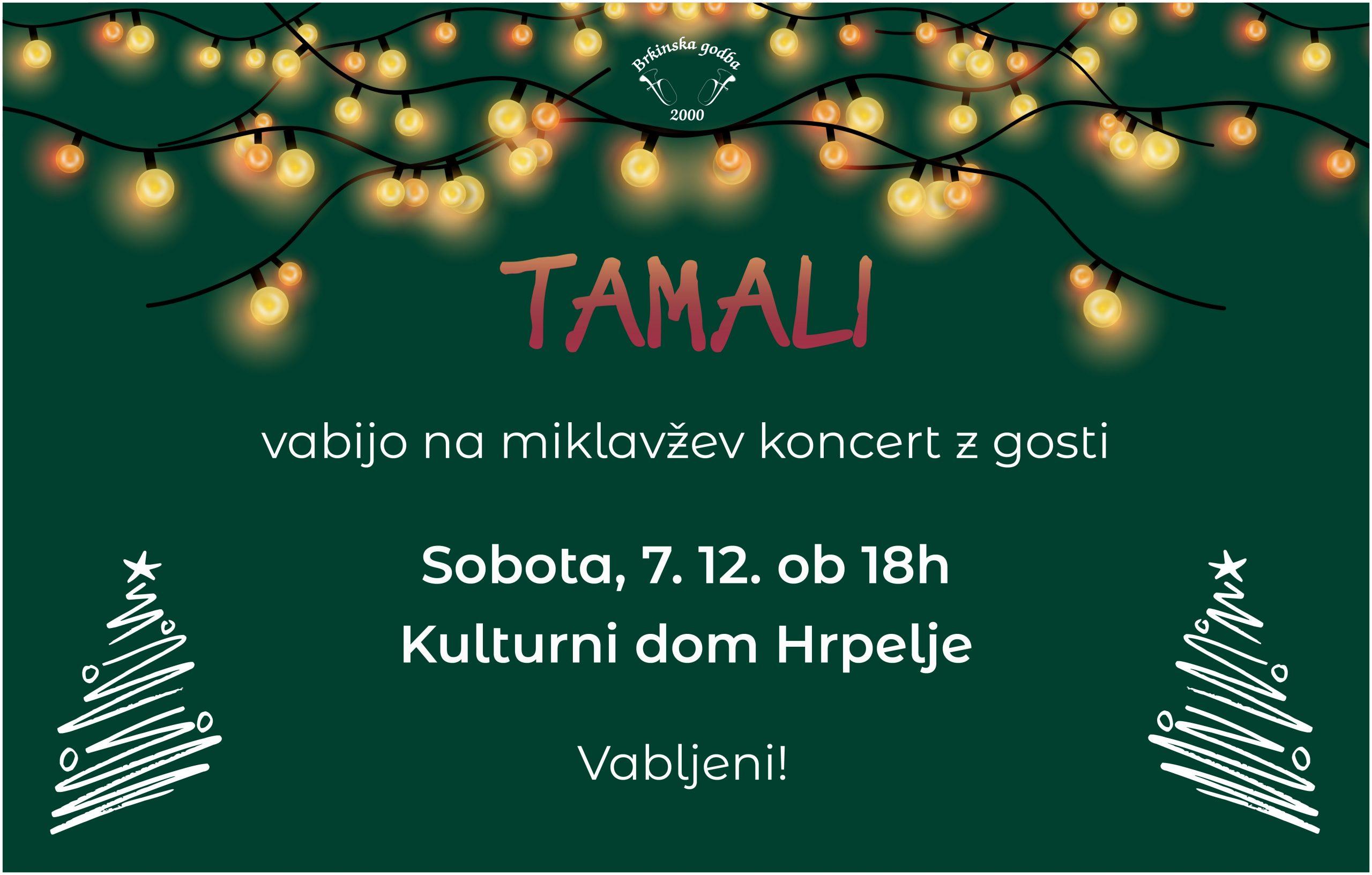 Miklavžev koncert @ Kulturni dom Hrpelje
